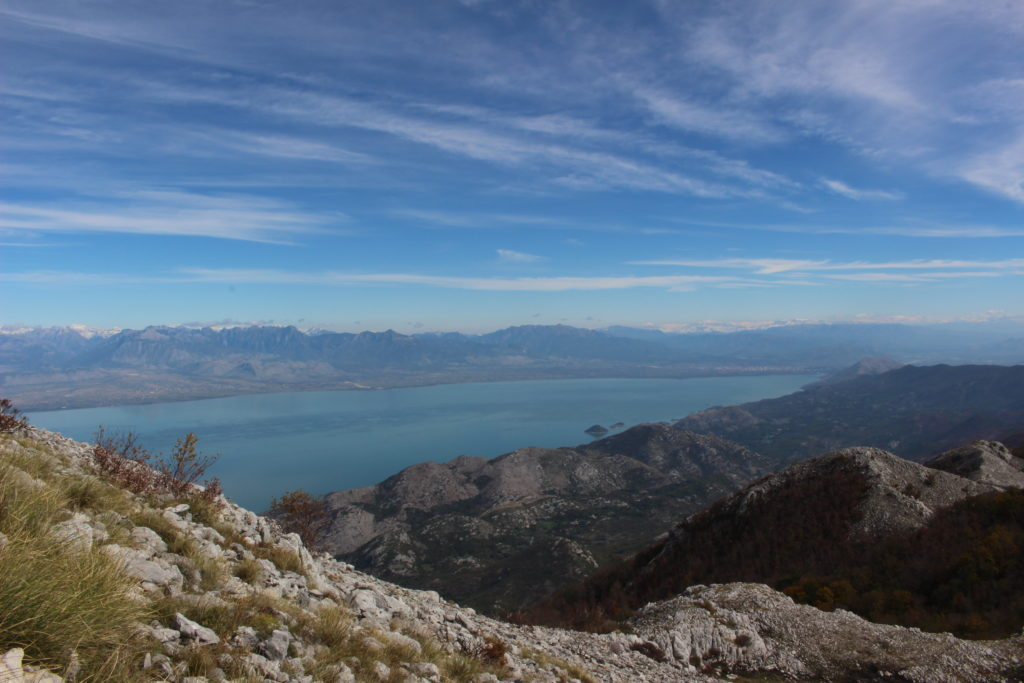 View on Skadar lake from Rumija